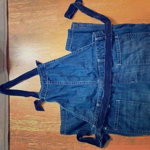 Gymboree Backless jean overalls